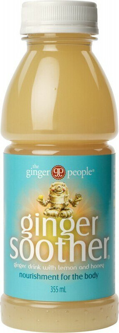 The Ginger People Ginger Soother Drink Lemon Honey 355ml