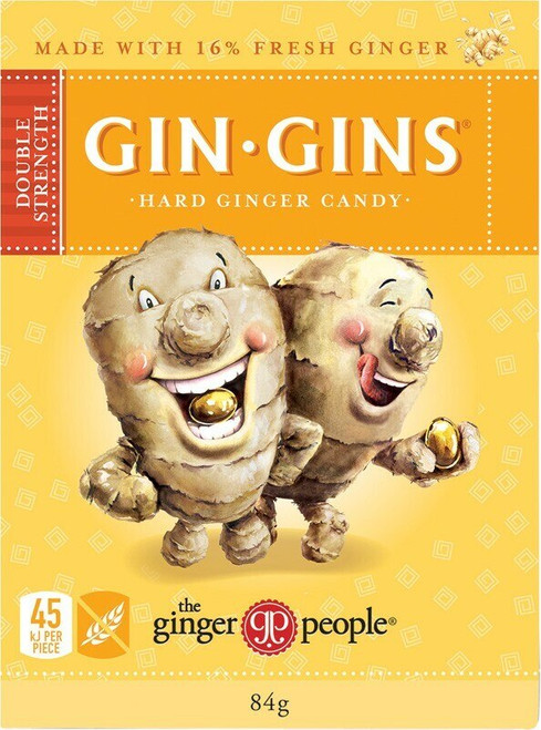 The Ginger People Ginger Hard Candy Double Strength 84g