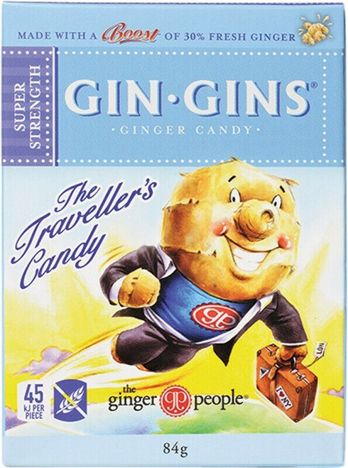 The Ginger People Ginger Candy Super Strength 84g