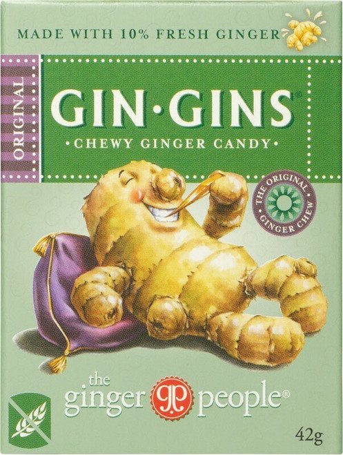 THE GINGER PEOPLE Gin Gins Ginger Candy Chewy - Original 42g