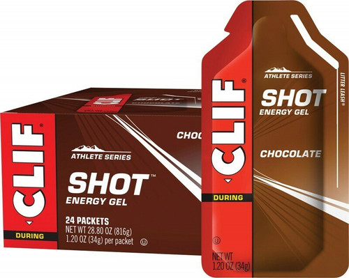 Clif Bar Shot Energy Gel Chocolate 24x 34gr