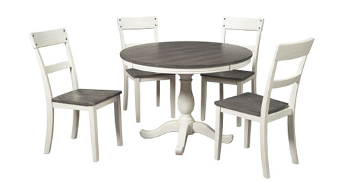 Nelling Two-tone 6 Pc.  Table & 4 Side Chairs