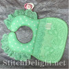 SDS1154 ITH Quilted baby Bibs
