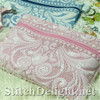 SDS1505 ITH Quilted Zipper Bags