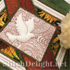 SD1289 Christmas Quilt Dove