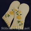 SD0707 Rose Oven Mittens