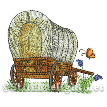 SDS0573 Covered Wagon