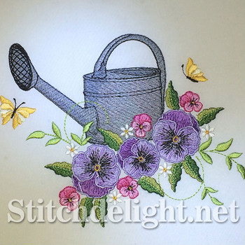 SDS0670 Pansy Watering Can