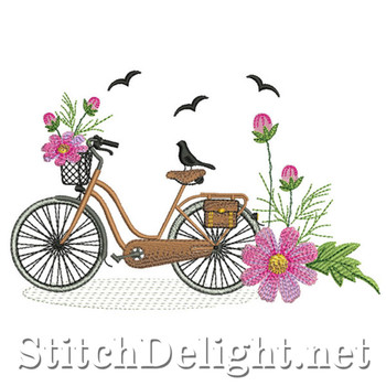 SDS0704 Cosmos Bicycle