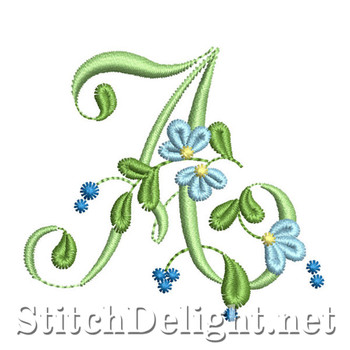 SDS0869 Forget me not Font A