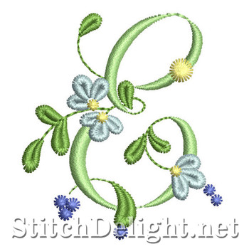 SDS0869 Forget me not Font E