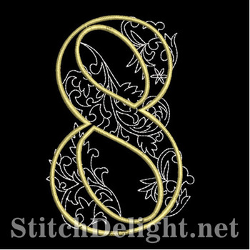 SDS1127 Quilters Font 8