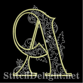 SDS1127 Quilters Font A
