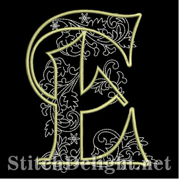 SDS1127 Quilters Font E