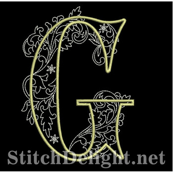 SDS1127 Quilters Font G