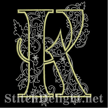 SDS1127 Quilters Font K