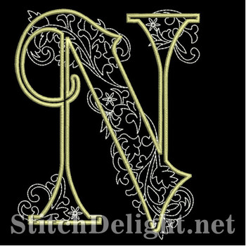 SDS1127 Quilters Font N