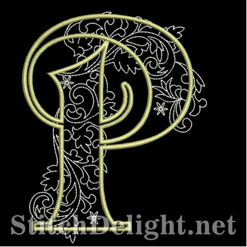 SDS1127 Quilters Font P