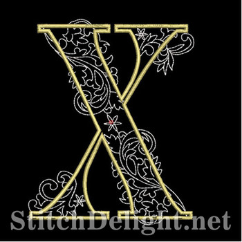 SDS1127 Quilters Font X