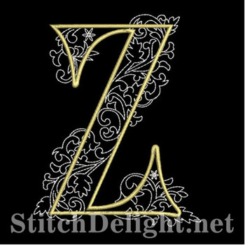 SDS1127 Quilters Font Z