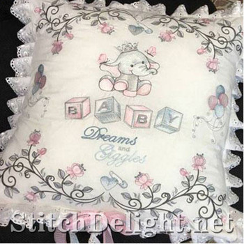 SDS1131 ITH Baby Ellie Pillow