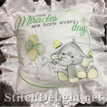 SDS1134 ITH Baby Ellie Pillow
