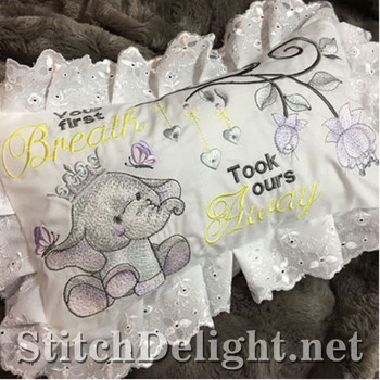 SDS1135 ITH Baby Ellie Pillow
