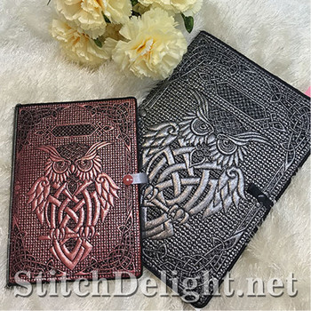 SDS1191 Celtic Owl Book Covers