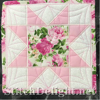 SDS1196 Patchwork Star ITH 1