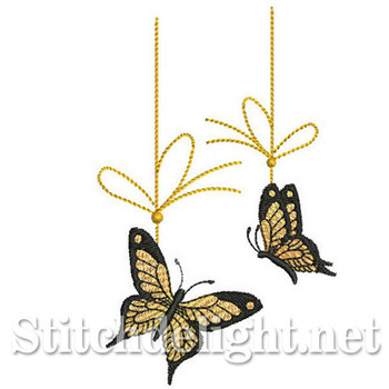 SDS0273 Butterfly Ornaments