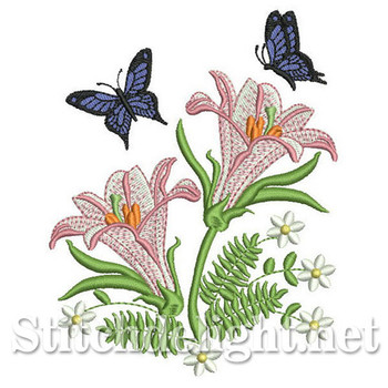SDS0283 Butterfly Lily