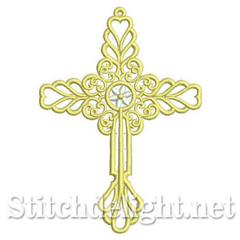 SDS0289 Freestanding Lace Cross