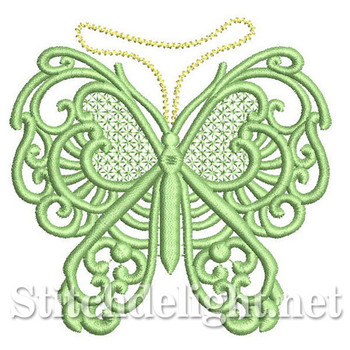 SDS0292 Freestanding Lace Butterfly