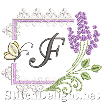 SDS1253 Lavender and Lace Font F