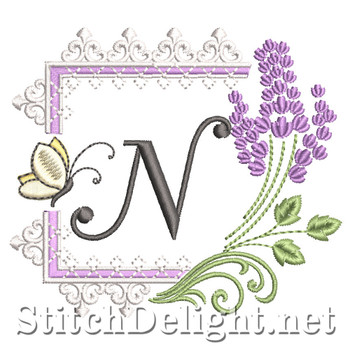 SDS1253 Lavender and Lace Font N