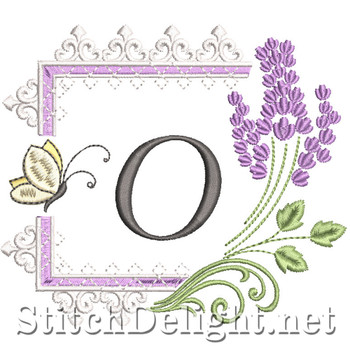 SDS1253 Lavender and Lace Font O