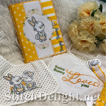 SDS1259 Bugsy Bunny Book Covers