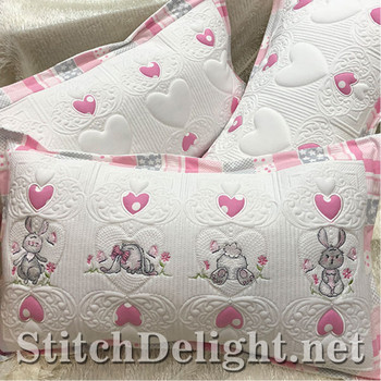 SDS1264 Bugsy Bunny and Quilting