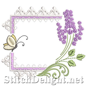 SDS1307 Lavender and Lace Frame