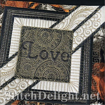 SDS1359 QuiltSquare Love