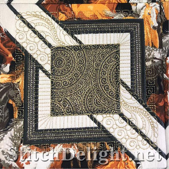 SDS1360 QuiltSquare with Patternonly