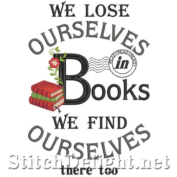 SDS1383 Lose yourself in a Book