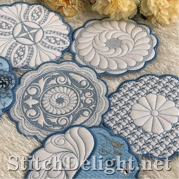 SDS1426 Round Quilted Placements