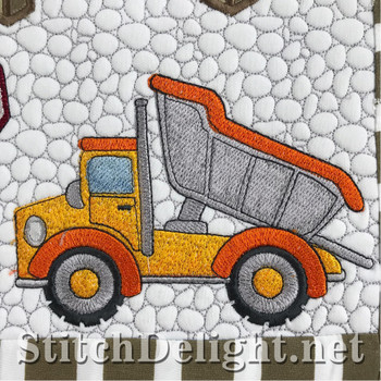 SD1476 Tip Truck_Tipping