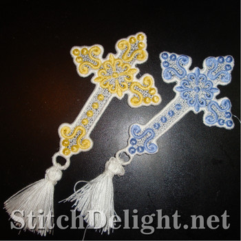 SD1214 Freestanding Lace Bookmark