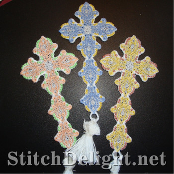 SD1216 Freestanding Lace Bookmark