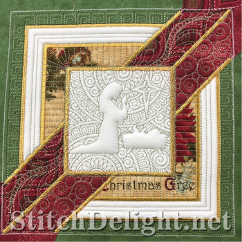 SD1287 Christmas Quilt Baby