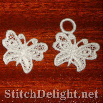 SD1100 Freestanding Lace Tiny Butterfly