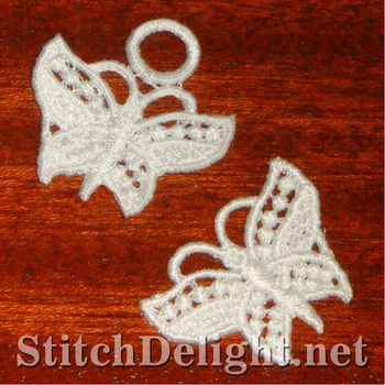 SD1101 Freestanding Lace Tiny Butterfly