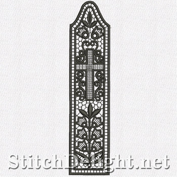 SD1106 Freestanding Lace Bookmark